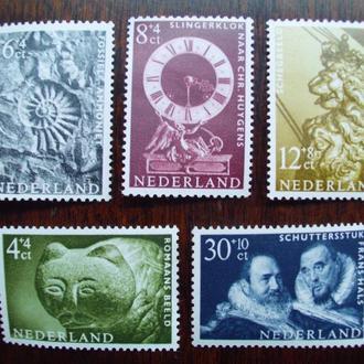 Голландия.1962г. Искусство и культура. Полная серия. MNH