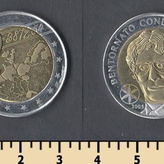 Падания 2 евро 2005