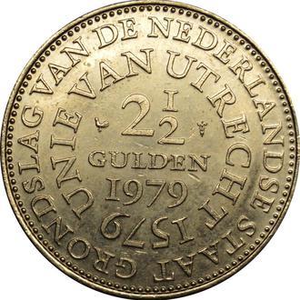Нідерланди 2½ Гульдена 1979