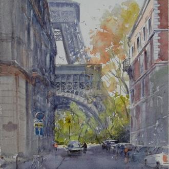 """Картина """"Франция"""". Микитенко Виктор"""