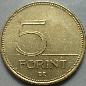 Венгрия 5 форинтов 1993, 94, 2000 фауна