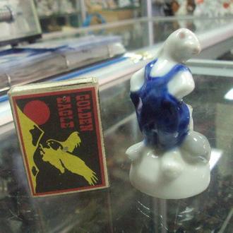 фигура фарфор городница заяц и еж заяц хвастунишка с ежиком №183