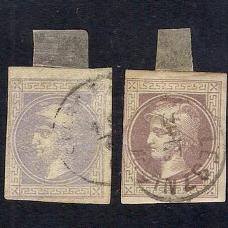 1867 год. Австрия. 1 Kr. Тип  I и II
