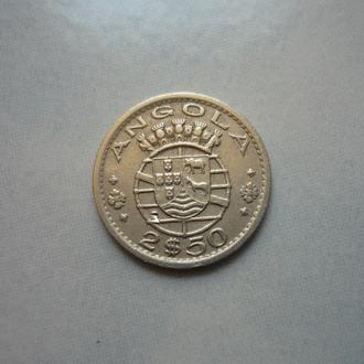 Ангола 2.5 эскудо 1956
