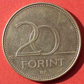 20 форинтів 1994 р. Угорщина.