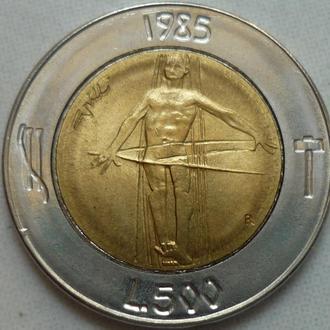 Сан-Марино 500 лир 1985