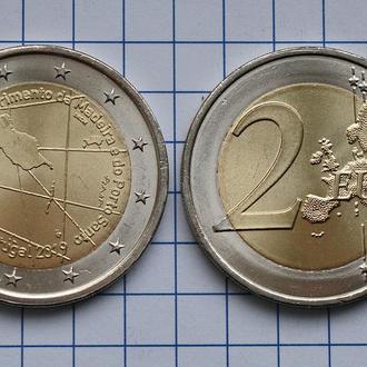 Португалия 2 евро, 2019, 600 лет открытию острова Мадейра