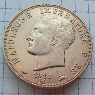 Италия 40 лир 1811-м года Император Наполеон, копия