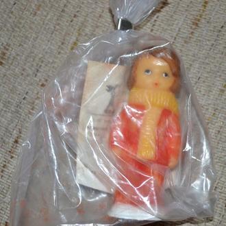Кукла Юнна, Донецк, 10см, резина, упаковка