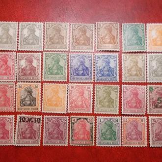 L6..D.Reich. 1900-15...мікс.MH