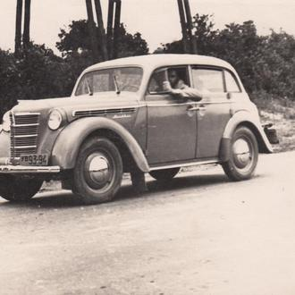 "Фото. Автомобиль ""Москвич 400"". 1956 год."