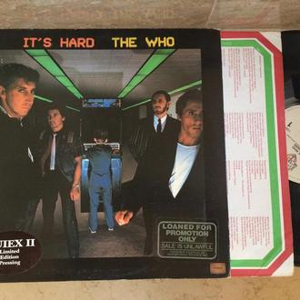 The Who – It's Hard   (USA )  LP