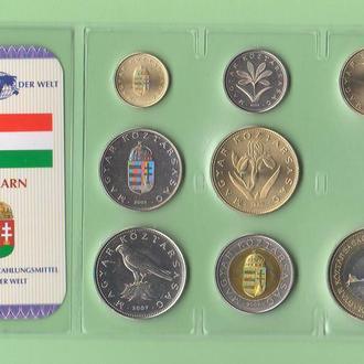 Набор монет ВЕНГРИЯ запайка набір УГОРЩИНА пластик из серии DAS GELD DER WELT