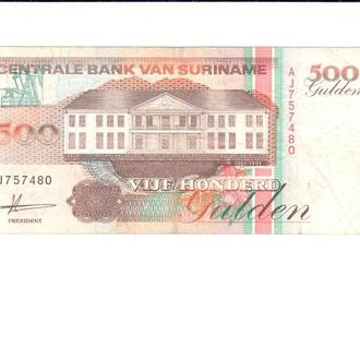 Surinam 500 Gulden 1991