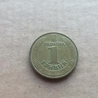 Украина 1 гривна / 1 гривня 2004 год (598)