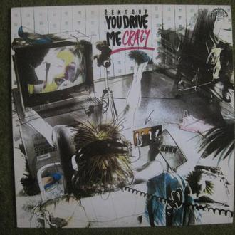 "ŽENTOUR  You Drive Me Crazy     LP 12""   NM/NM"