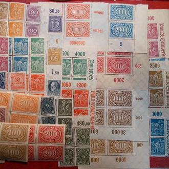 L89..D.Reich..35 блоків..MNH