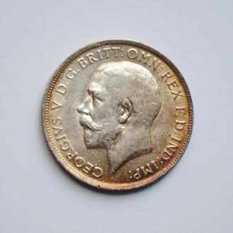 Великобритания 1 флорин 1916 г., XF-UNC, 'Король Георг V (1910-1936)'