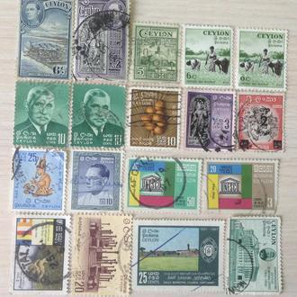 Цейлон. Разные марки
