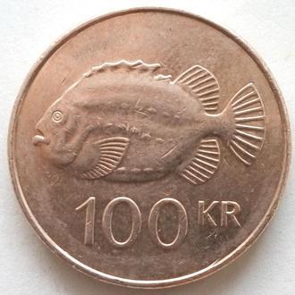 (А) Исландия 100 крон, 2011
