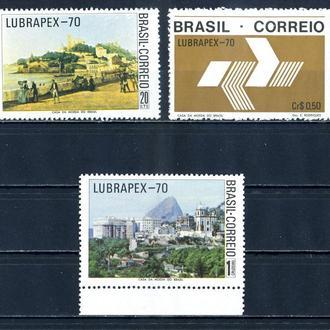 Бразилия. Искусство. Выставка-70 (серия)** 1970 г.