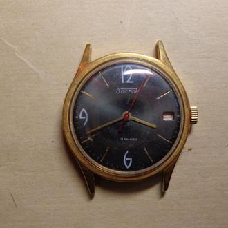 Часы Восток, позолота AU20, СССР