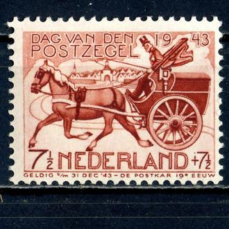 Нидерланды. Транспорт (серия)** 1943 г.
