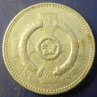 1 фунт 2001 Британія