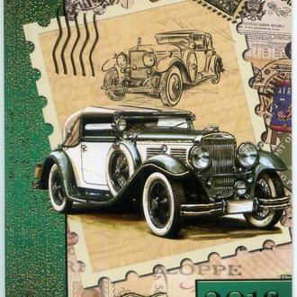 2018. Карманный календарик. Ретро автомобиль #2