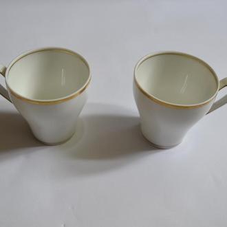 винтажный набор пара кофейных чашек Rc корона отличное состояние