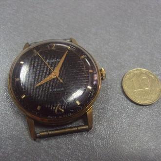 часы наручные циферблат механизм ракета позолота Ау20 №11