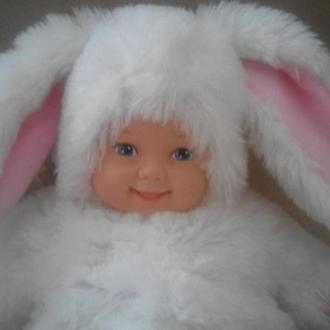 Кукла  зайчик Anne Geddes 45см оригинал
