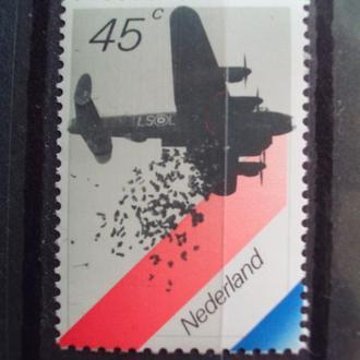 Голландия.1980г. Бомбардировщик. MNH