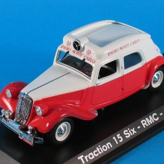 1/43 CITROEN Traction 15 six RMC 1952 RADIO MONTE CARLO. NOREV.