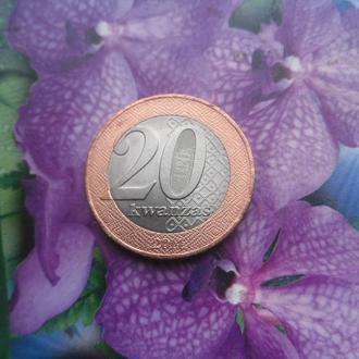 Ангола 20кванзас 2014г
