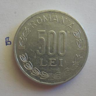 РУМЫНИЯ, 500 лей 1999 года.
