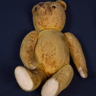 Медведь плюшевый 45 см Германия 30-40 х годов ДОСТАВКА БЕСПЛАТНО !