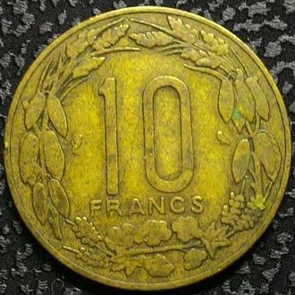Французский Камерун 10 франков 1961 год