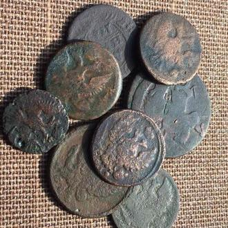 Царская медь 8 монет одним лотом
