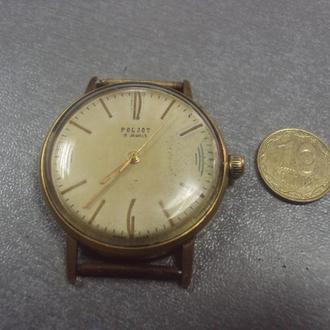часы наручные циферблат механизм полет позолота Ау20 №7