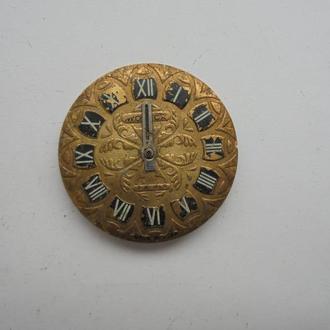 Циферблат механических часов РАКЕТА с механизмом. (№803).
