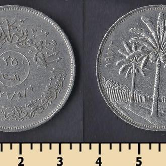 Ирак 250 филс 1972