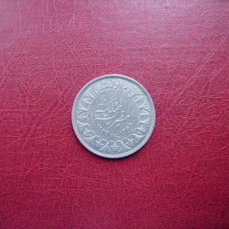 Египет 10 пиастров 1939 Редкая серебро