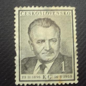 ЧССР 1953г. негаш.
