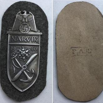 Нарукавный наградной щит NARVIK 1940