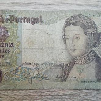 Португалия 50 эскудо 1980 год