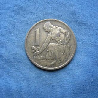 Чехословакия 1 крона 1971 год