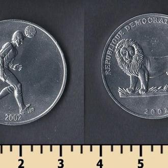 Конго 50 сентимов 2002