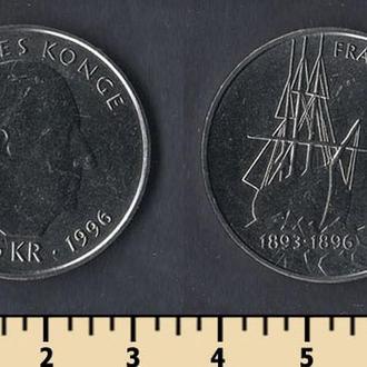 Норвегия 5 крон 1996