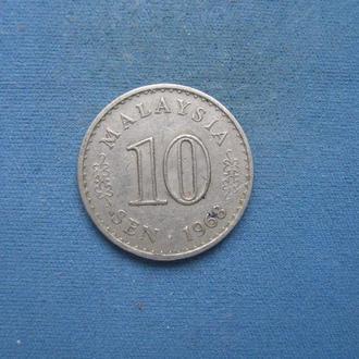 Малайзия 10 сен 1968 год